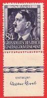 MiNr.119 UR Xx Deutschland Besetzungsausgaben II. Weltkrieg Generalgouvernement - Besetzungen 1938-45