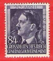 MiNr.119  Xx Deutschland Besetzungsausgaben II. Weltkrieg Generalgouvernement - Besetzungen 1938-45