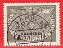 MiNr.9 O Deutschland Besetzungsausgaben II. Weltkrieg Generalgouvernement ,Dienstmarken - Occupazione 1938 – 45