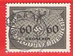 MiNr.11 O Deutschland Besetzungsausgaben II. Weltkrieg Generalgouvernement ,Dienstmarken - Occupazione 1938 – 45