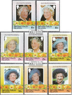 Jungferninseln 519-526 (kompl.Ausg.) Postfrisch 1985 Königinmutter Elisabeth - British Virgin Islands