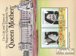 Jungferninseln Block24 (kompl.Ausg.) Postfrisch 1985 Königinmutter Elisabeth - British Virgin Islands