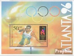 Kasachstan Block5 (kompl.Ausg.) Postfrisch 1996 Olympische Spiele Der Neuzeit - Kasachstan