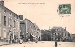 ¤¤  -    3093   -   MONCOUTANT   -   La Place   -  Hôtel Du Cheval Blanc     -   ¤¤ - Moncoutant