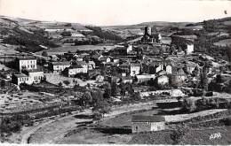 12 - PLAISANCE : Vue Générale - CPSM Dentelée Noir Blanc Format CPA 1955 - Aveyron - France