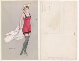 CALDERARA C. Cartolina /post Card #1 - Illustratori & Fotografie