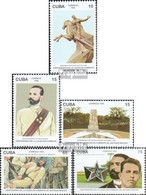 Kuba 3961-3965 (kompl.Ausg.) Postfrisch 1996 Antonio Maceo Grajales - Ungebraucht