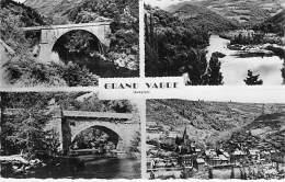 12 - GRAND FABRE : Multivues Dentelée Noir Et Blanc - CPSM Dentelée Noir Blanc Format CPA 1974 - Aveyron - France