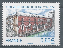 France, Douai (Nord) The Courthouse, 2014, MNH VF - Unused Stamps