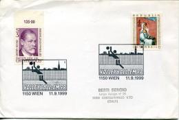 11533 Austria, Special Postmark 1999  Volleyball  EM99 - Volley-Ball