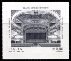 Italia Repubblica 2015 Teatro Stabile Di Torino € 0,80 MNH** Integro - 2011-...:  Nuovi