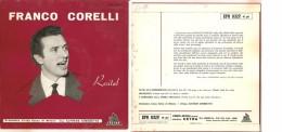 """FRANCO CORELLI - RIGOLETTO-LUCIA DI LAMMERMOOR I LOMBARDI ALLA PRIMA CROCIATA NM/NM 7"""" - Opera"""