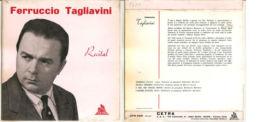 """FERRUCCIO TAGLIAVINI RECITAL NM/NM 7"""" - Opera"""