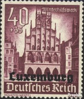 Luxemburg (Dt.Bes.2.WK.) 41 Postfrisch 1941 Winterhilfswerk - Besetzungen