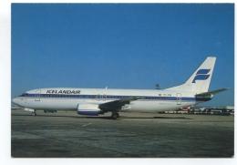 ICELANDAIR  - Avion Boeing B 737 400  ( TF FIB )- - 1946-....: Moderne