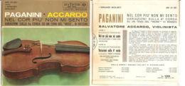 """PAGANINI - ACCARDO NEL COR PIU' NON MI SENTO - ROSSINI NM/NM 7"""" - Classica"""