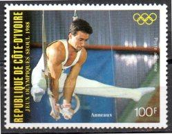 COTE D ´IVOIRE   PA 117   * *     JO 1988   Gymnastique Anneaux - Gymnastics