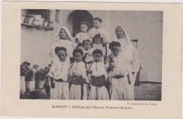 Cpa,MAROC ,RABAT EN 1916,1ere Guerre Mondiale,élève De L´école FRANCO-ARABE,éditon Cousin - Rabat