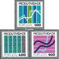 Portugal 1196-1198 (kompl.Ausg.) Postfrisch 1973 Wirtschaftliche Produktivität - Nuevos