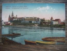 Po.5S. Krakow. Wawel Od Strony Wisly. Krakau.  Sztuka. - Pologne