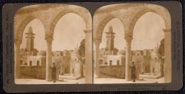 STEREOSCOPIE PALESTINA - THE MAWAZIN OR SCALE OF JUDGMENT - JERUSALEM - Palestine