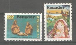 Serie Nº 1287/8  Ecuador - Ecuador