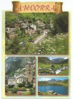 Villages Romans En Andorre,  Carte Postale Neuve, Non Circulée - Andorra