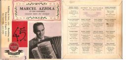 "MARCEL AZZOLA ET SON ENSEMBLE GRAND PRIX DU DISQUE VG+/NM 7"" - Country & Folk"