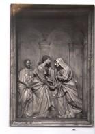 N2977 CARTOLINA Di SAVONA, Santuario Con Altorilievo Del Bernini + TIMBRO DELLA BASILICA 1954 - Italy
