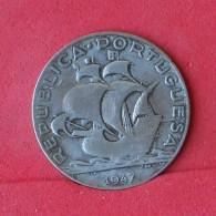 PORTUGAL 5 ESCUDOS 1947 - 6,7 GRS - 0,650 SILVER   KM# 581 - (Nº15365) - Portugal