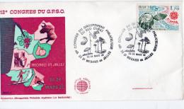 F. D. C. FRANCE 12 Congres Du Groupement Philatelique Du Sud Ouest 33 St Médard En Jalles 23 Mars 85 Y.T. N° 2047 - 1980-1989