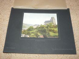 Martinskirche Oberwesel Germany Photo Foto Print Aus 1922 In Karton Carton 36 X 27,5 Cm - Lieux