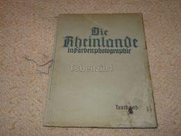 Die Rheinlande In Farbenphotographe 1922 Germany (100 Seite) - Libros, Revistas, Cómics
