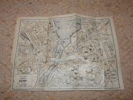 Genf Map Switzerland 1914 - Cartes Géographiques