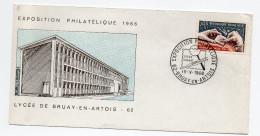 F. D. C. FRANCE Exposition Philatelique    62 Bruay En Artois  Y.T. N°1487 La Gravure Des Timbres Poste (le Burin) - 1960-1969
