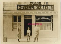 Photographie Commerce Garage Hotel De Normandie-propriétaire A. Déry-sur Papier Vélox - Professions