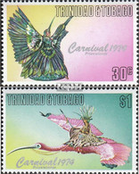 Trinidad Und Tobago 337-338 (kompl.Ausg.) Postfrisch 1976 Karneval - Trinidad & Tobago (1962-...)