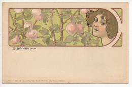 DOCKER E. JUN. Cartolina / Post Card #3 - Doecker, E.