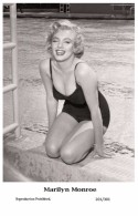 MARILYN MONROE - Film Star Pin Up PHOTO POSTCARD- Publisher Swiftsure 2000 (201/301) - Cartes Postales