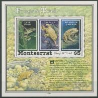 Montserrat 1991 Frösche Und Kröten Block 61 Postfrisch (C12582) - Montserrat