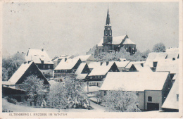 AK Altenberg I. Erzgebirge Im Winter - 1932 (23978) - Altenberg