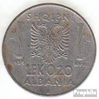 Albanien KM-Nr. : 29 1939 R Sehr Schön Stahl Sehr Schön 1939 0,20 Lek Italienische Besetzung - Albania