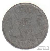 Belgien KM-Nr. : 127 1943 Sehr Schön Zink Sehr Schön 1943 1 Franc Löwe Auf Schild - 1934-1945: Leopold III.