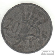 Böhmen Und Mähren Jägernr: 621 1941 Sehr Schön Zink Sehr Schön 1941 20 Heller Wappenlöwe - [ 4] 1933-1945 : Third Reich