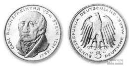 BRD (BR.Deutschland) Jägernr: 430 1981 G Stgl./unzirkuliert Kupfer-Nickel Stgl./unzirkuliert 1981 5 DM Stein - [10] Commemorations