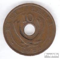 Brit. Ostafrika Und Uganda 19 1936 Sehr Schön Bronze Sehr Schön 1936 10 Cents George V. - Ostafrika Und Herrschaft Von Uganda