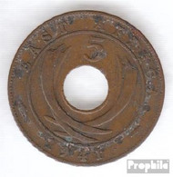 Brit. Ostafrika Und Uganda 25 1941 Sehr Schön Bronze Sehr Schön 1941 5 Cents George VI. - Africa Orientale E Protettorato D'Uganda