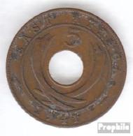 Brit. Ostafrika Und Uganda 25 1942 Sehr Schön Bronze 1942 5 Cents George VI. - Ostafrika Und Herrschaft Von Uganda