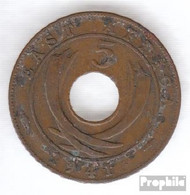 Brit. Ostafrika Und Uganda 25 1942 Sehr Schön Bronze 1942 5 Cents George VI. - East Africa & Uganda Protectorates