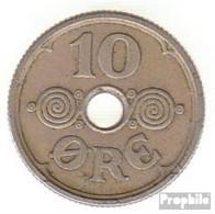Dänemark KM-Nr. : 822 1937 Sehr Schön Kupfer-Nickel 1937 10 Öre Gekröntes Monogramm - Dänemark